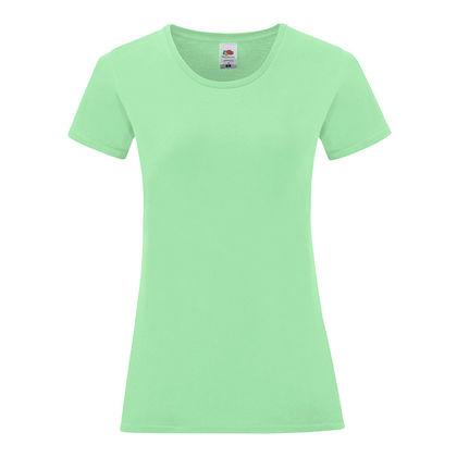 Дамска тениска цвят мента С1756-2