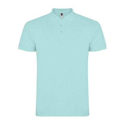 Памучна риза в цвят мента В1185-2