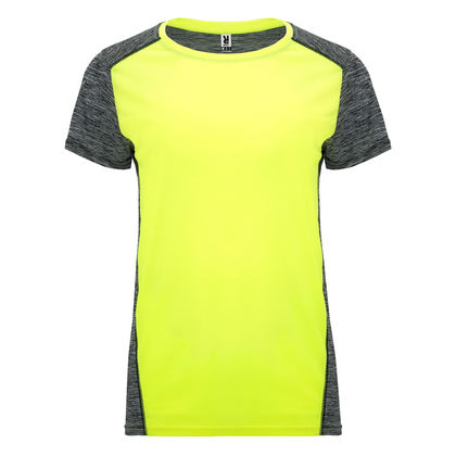 Спортна двуцветна тениска С1745