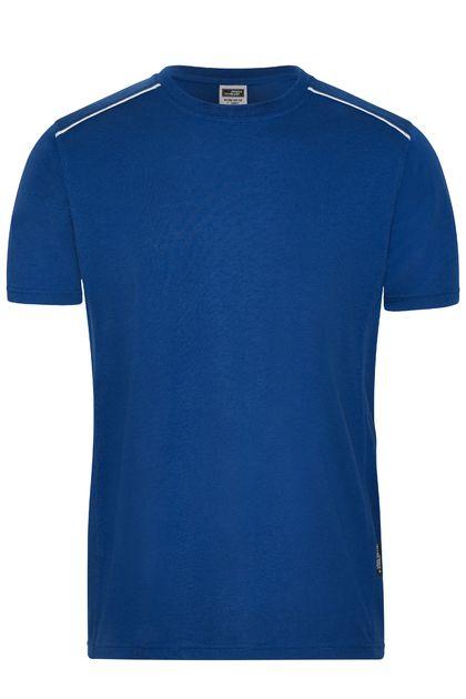 Мъжка тениска с контрастен ръб В890ДН
