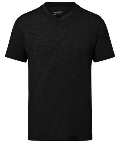 Еластична тениска с остро деколте В750ДН