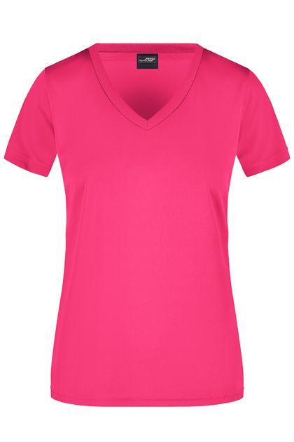 Дамска тениска с остро деколте В735ДН