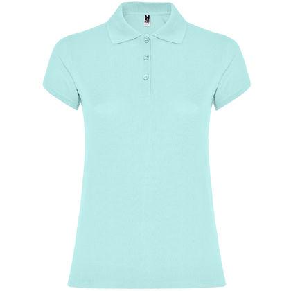 Дамска памучна риза в цвят мента С1186-2