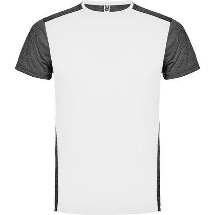 Мъжка двуцветна тениска за спорт С1481