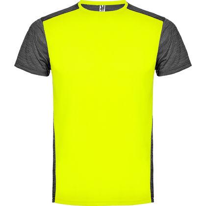 Спортна двуцветна тениска В1481