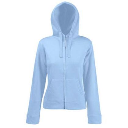 Дамски суичър в светло синьо С1229-2