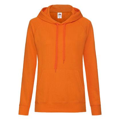 Дамски суичър в оранжево С489-5