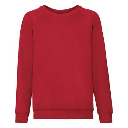 Детска ватирана блуза в червено С107-2