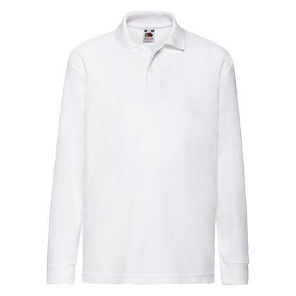 Бяла детска риза С133-2