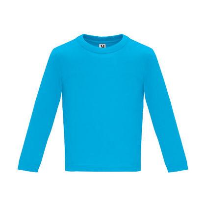 Бебешка блузка в светло синьо С1626-2