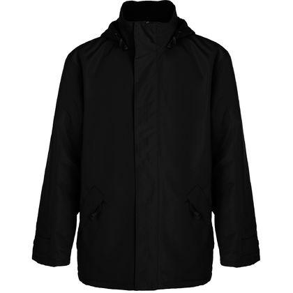 Стилно мъжко яке в черно С265-2