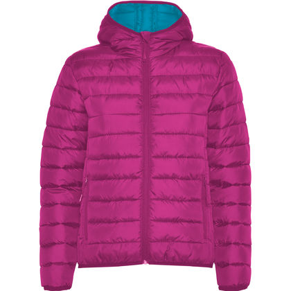 Олекотено дамско яке в розово С1363-3