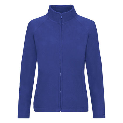 Дамско поларено яке в синьо С62-5
