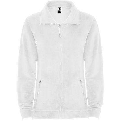 Бяло поларено яке С362-4