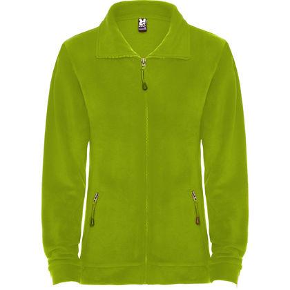 Поларено дамско яке в светло зелено С362-6