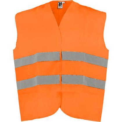 Светлоотразителна жилетка в оранжево С618-2