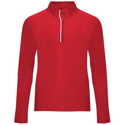 Червена спортна блуза за мъже С1773-3