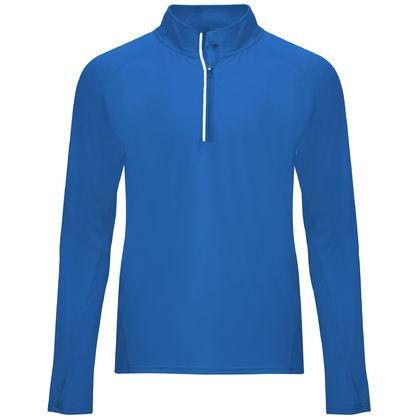 Синя спортна блуза за мъже С1773-4