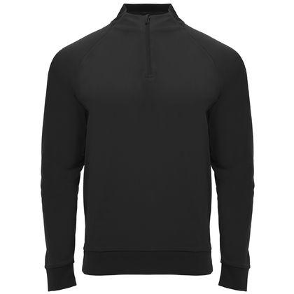 Черна мъжка блуза по тялото С1791-1