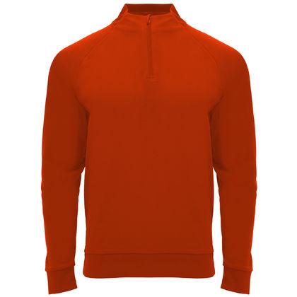 Червена мъжка блуза по тялото С1791-2