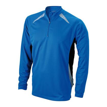 Спортна мъжка блуза в синьо С896-2