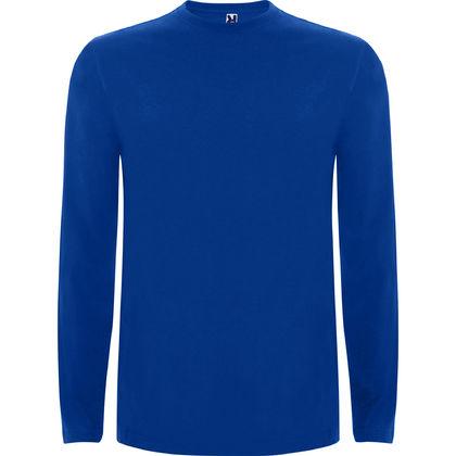 Мъжка памучна блуза в синьо С85-5