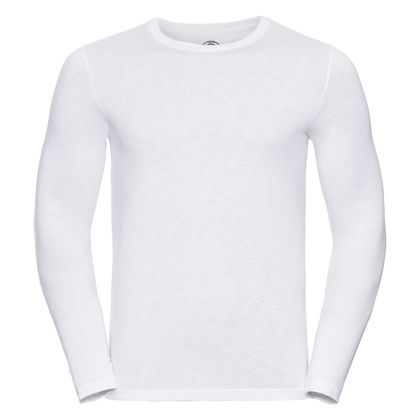 Бяла мъжка блуза от супер материя С417-2