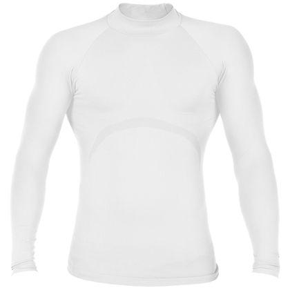 Бяла тениска за бодибилдинг С14-2