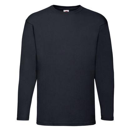 Тънка мъжка блуза в тъмно синьо С84-4