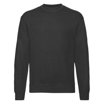 Класическа черна блуза за мъже С79-2