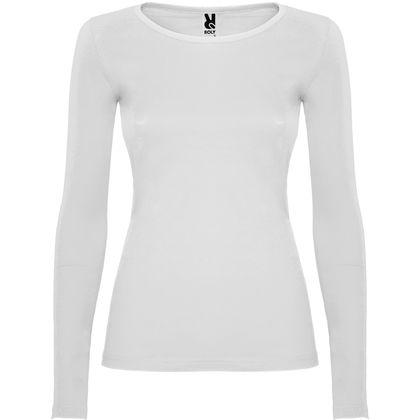 Бяла памучна блуза за жени С78-2