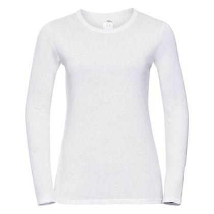 Качествена дамска блуза в бяло С418-2