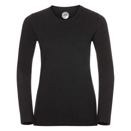 Качествена черна блуза за жени С418-5