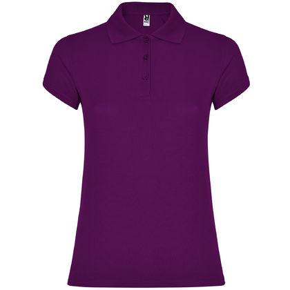 Дамска риза в лилаво С1186-3