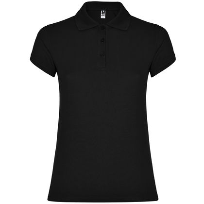 Черна дамска риза с къс ръкав С1186-4