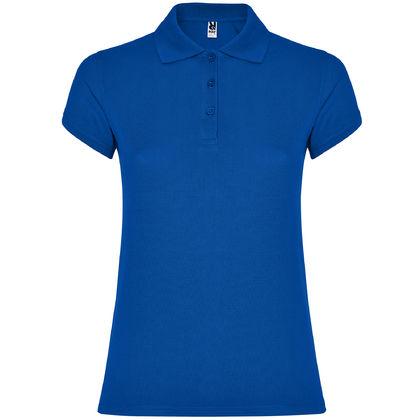 Дамска риза синя С1186-7