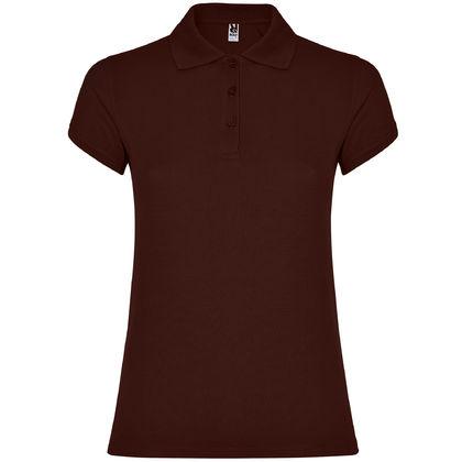 Дамска риза в цвят шоколад С1186-9