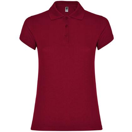Дамска риза цвят бордо С1186-10