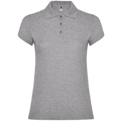 Дамска риза в светло сиво С1186-11
