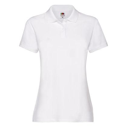 Дамска бяла риза с къс ръкав С147-3