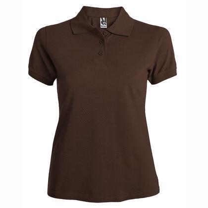 Дамска риза в цвят шоколад С547-3