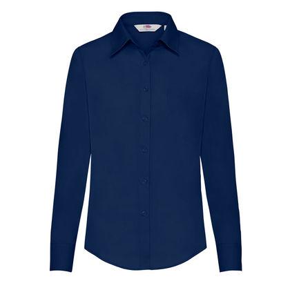 Официална дамска риза с дълъг ръкав С63-2