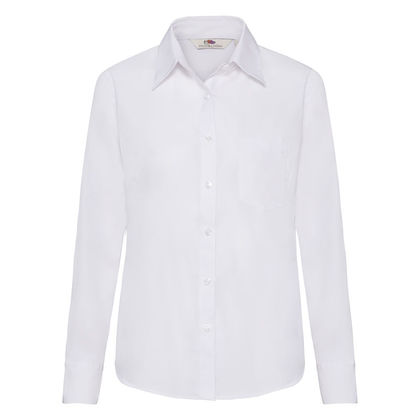 Бяла официална риза С63-5