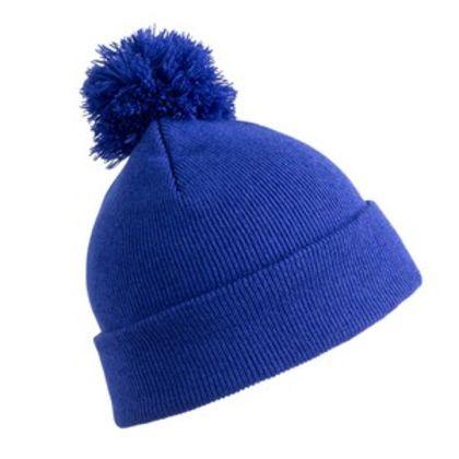 Зимна шапка с пом пом С2335