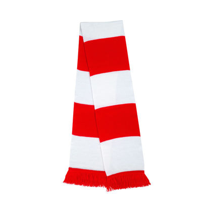 Плетен футболен шал с ресни С2338