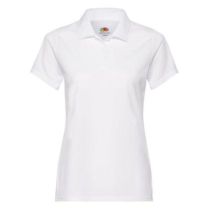 Бяла спортна риза за жени С847-2