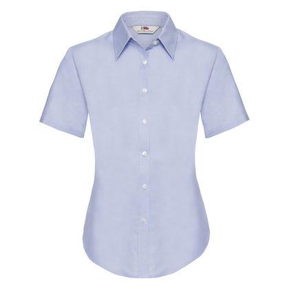 Изтънчена дамска риза в светло синьо С40-2