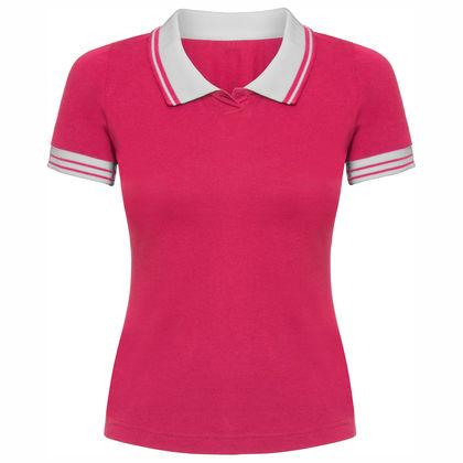 Дамска тениска с яка С339-2