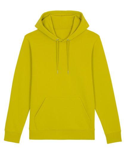 Много топъл суичър в сламено жълто С2431Д
