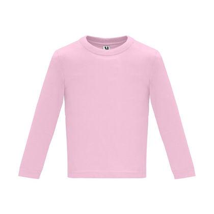 Бебешка розова блузка С1626-4